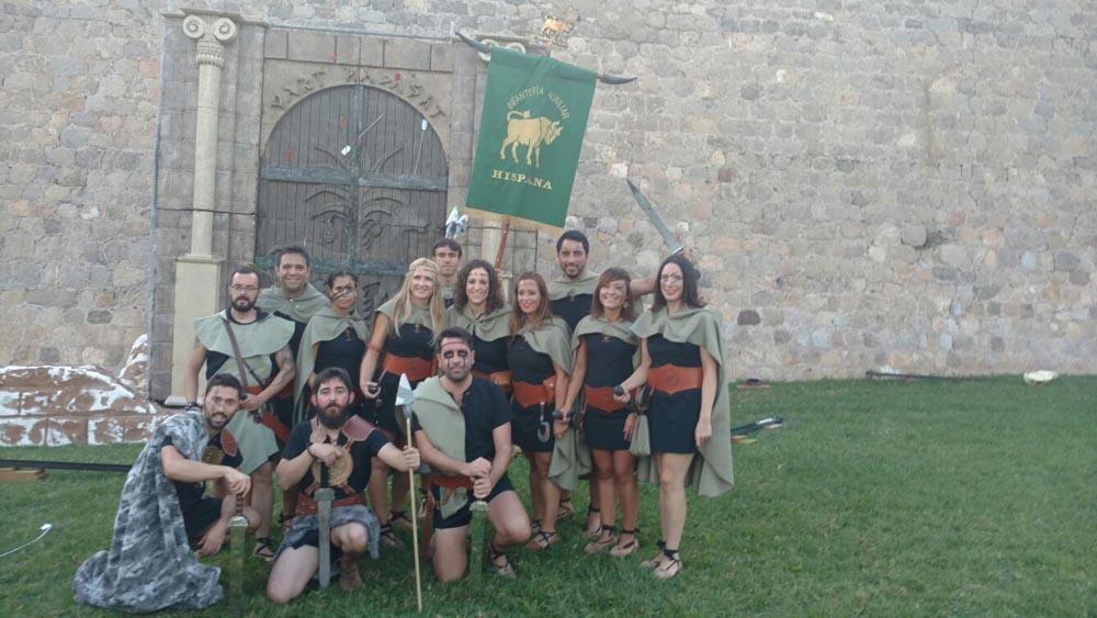 Infantería Auxiliar Hispana
